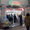 食品メーカーの出店風景